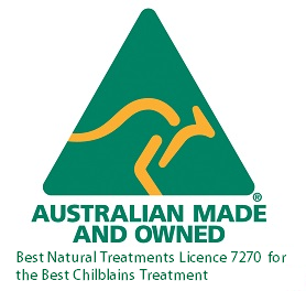 Best Chilblains Cure Australian Made Logo